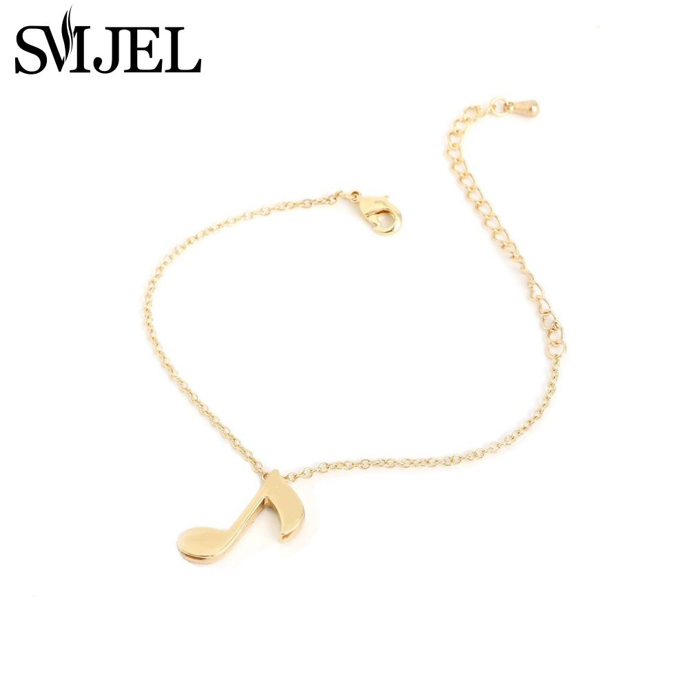 2016 New Fashion Delicate Musical Note Bracelet for Women Love Music Symbol Charm Bracelets Party Gift B006(China (Mainland))