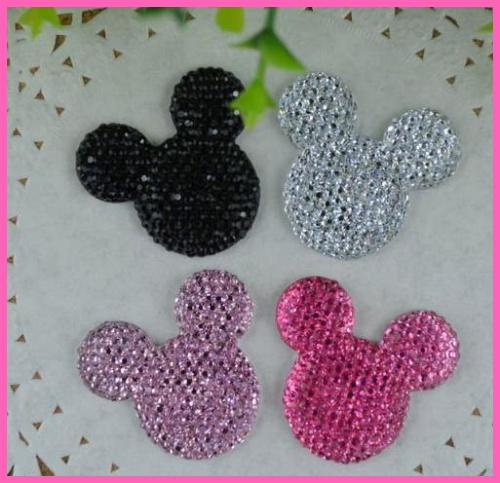 Kawaii Cabochons Flat Back Resin Minnie Mouse Kitty Cabochon Hair Accessories Christmas Diy Craft diy Phone Decoration
