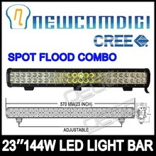 """23"""" 23inch 144W CREE Work Driving SPOT FLOOD COMBO LED LIGHT BAR Offroad 4WD SUV(China (Mainland))"""