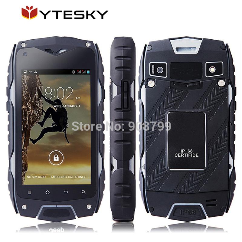 Original Jeep Z6 3G Mobile Phone 4.0 inch screen Dual Core 1.3GHz 512MB 4GB 5MP Camera GPS IP68 waterproof dustproof Shockproof(China (Mainland))
