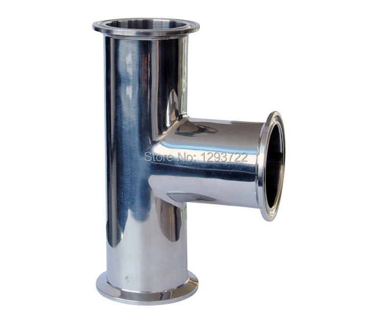 """1 """" SS304 Clamp Tee,Stainless steel Tee, Stainless steel fitting clamp tee(China (Mainland))"""