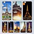 Amazing paris france eiffel tower design transparent clear hard Case Cover for Xiaomi Mi 4 4c