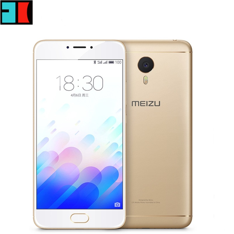"Original Meizu M3 Note Mobile Phone MTK Helio P10 Octa Core 5.5"" 1920x1080P 2GB RAM 16GB ROM Fingerprint ID 4100mAh Battery(China (Mainland))"