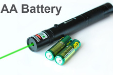 Astronomy GREEN Laser Pointer Military High-Power Lazer AA Battery Visible Beam(China (Mainland))