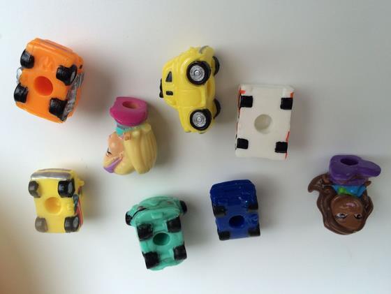 50pcs/lot cartoon car model toys 2CM, boys toys car, birthday gift for little friends,randomly sending(China (Mainland))