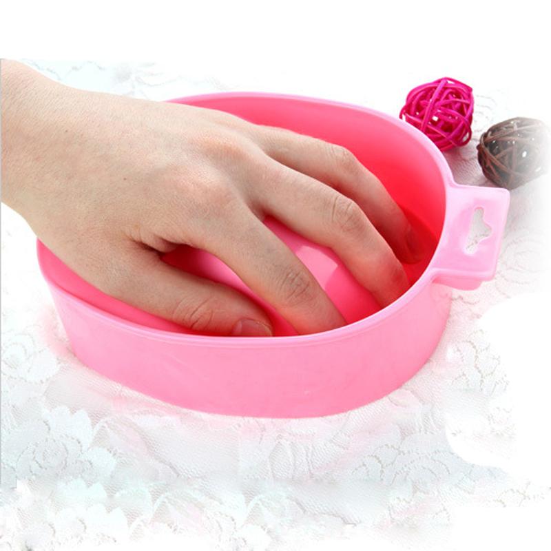 1Pcs New Manicure Off Bowls DIY Nail Art Equipment Fashion Remover Manicure Off Bowls Nail Tools Hand Wash Remover Soak Bowl(China (Mainland))