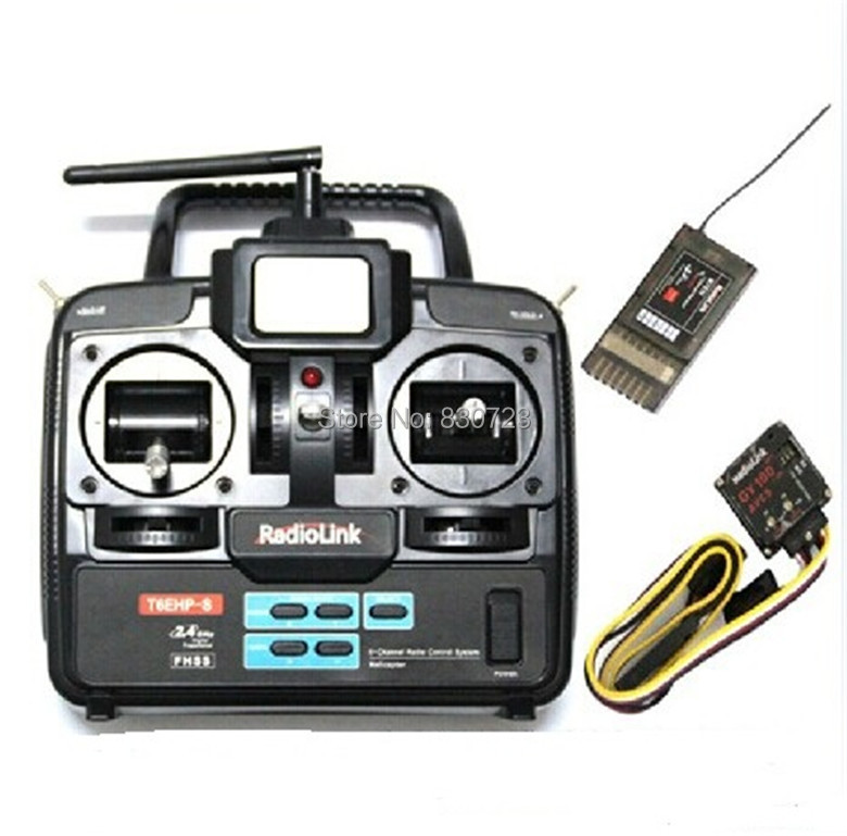 2.4G  6 CH T6EHP-S LCD Screen Transmitter,Controller,Radio with Gyro, 7CH  Receiver For Futaba 6EX 2.4G ALIGN TREX T-REX 450<br><br>Aliexpress