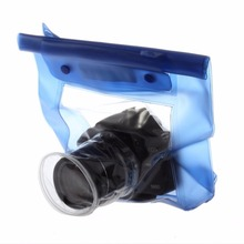 Buy 20M Waterproof DSLR SLR digital Camera outdoor Underwater Housing Case Pouch Dry Bag Canon Nikon hot new for $5.29 in AliExpress store