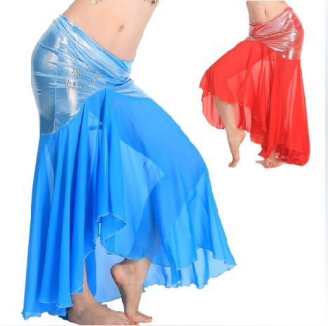 Best selling special dance India dance costumes for belly dancing skirt new practice fishtail skirt 2701(China (Mainland))