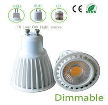 Hot selling factory price CE RoHS White Aluminium Shell MR16 E27 7w COB GU10 LED spotlight - Green Lantern Optoelectronic Light Factory store