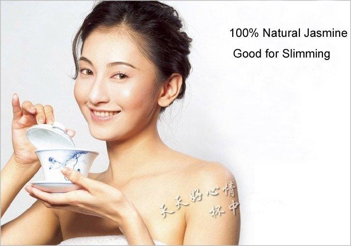 Promotion Organic Jasmine Flower Tea Green Tea 100g Secret Gift Free shipping