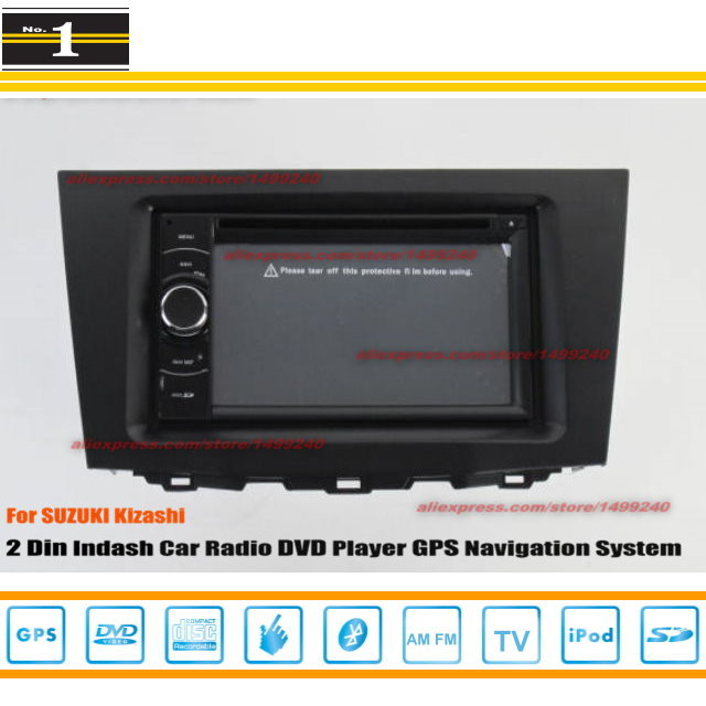 For SUZUKI Kizashi 2009~2014 - Car Radio Stereo CD DVD Player GPS NAVI / HD Touch Audio Video S100 Navigation System(China (Mainland))