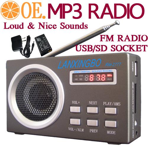 loud mini hifi portable usb sd mp3 player biuldin speaker digital fm radio station receiver. Black Bedroom Furniture Sets. Home Design Ideas