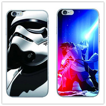 New arrival Star Wars pattern For iphone 5 5s/SE/6 6s 4.7″/6 6s plus 5.5″ phone case Cool robot drawing back cover cases
