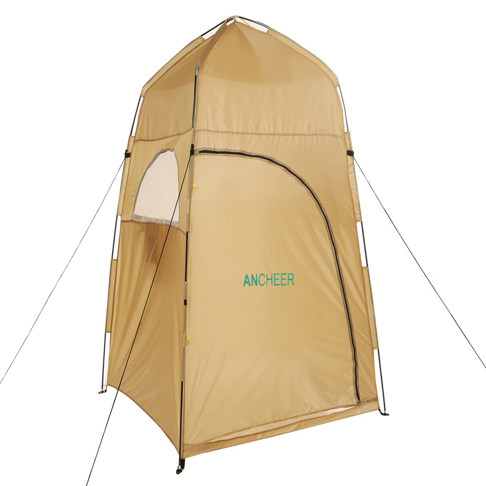 Waterproof Portable Shelter Camping Shower Tent Changing Toilet Room Outdoor Privacy Camp showing Movable Dressing Tent(China (Mainland))