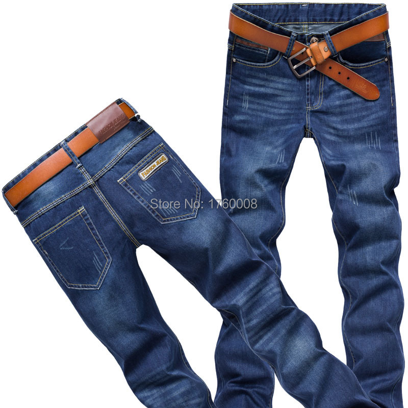 Spring / summer 2015 menswear fashion brand designer jeans denim trousers free size: 28-38 - The freezing point of casual clothing store
