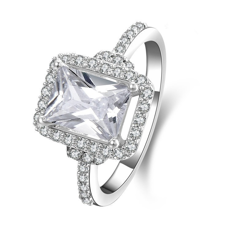 Aliexpress Buy Ring New Arrival 3Carat Reliable Diamond Ring Engagement