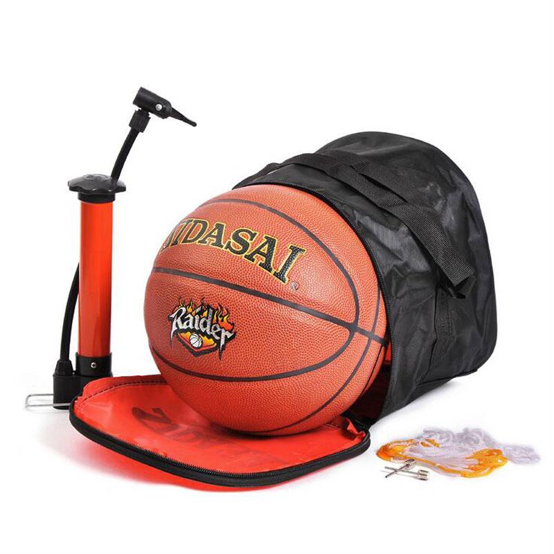 Kids Basketball Balls PU Leather Outdoor Indoor Basketball Ball with Needle+Bag(China (Mainland))