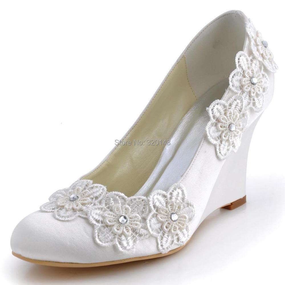 Purple Kitten Heel Wedding Shoes