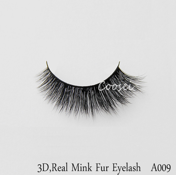 Free Shipping!Quality 100% real siberian mink fur eyelash handmade 3D mink lashes eyelash extensions individual,A009<br><br>Aliexpress