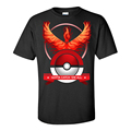 Pokemon Go Women s Men Cotton T Shirt 2016 Summer Print Fitted T Shirt Lady Fashion