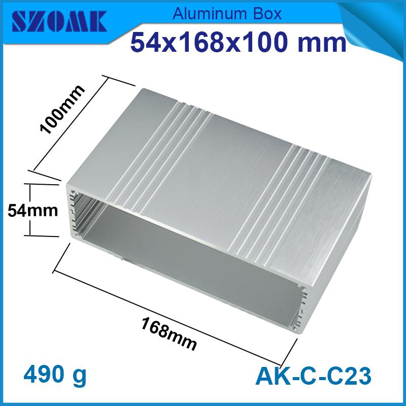 1 piece 54*168*100mm 2.13*6.61*3.94inch   cabinet customized aluminum<br><br>Aliexpress