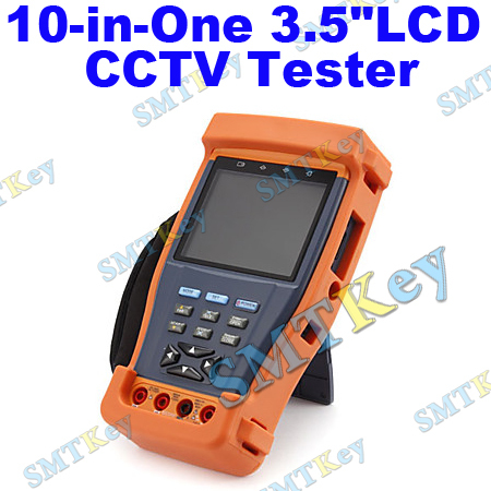 "10-in-One 3.5""LCD CCTV Tester with Optical Power Meter,Video&Audio&Cable&Network Testing(China (Mainland))"