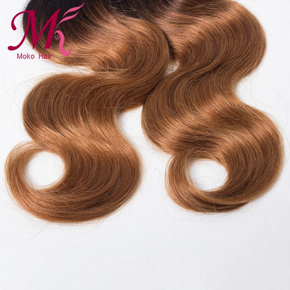 Brazilian Body Wave 3 Bundles Ombre Brazilian Hair Weave Bundles T1B 30 Ombre Human Hair Extensions Blonde Rosa Hair Products