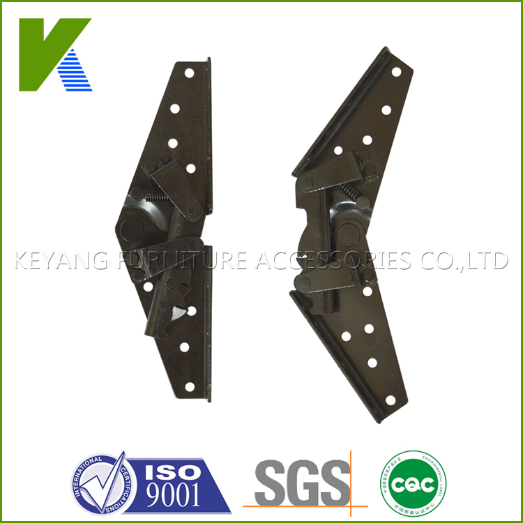 Adjustable Metal furniture Hardware Functional Folding Sofa Bed Hinge KYA023-1(China (Mainland))