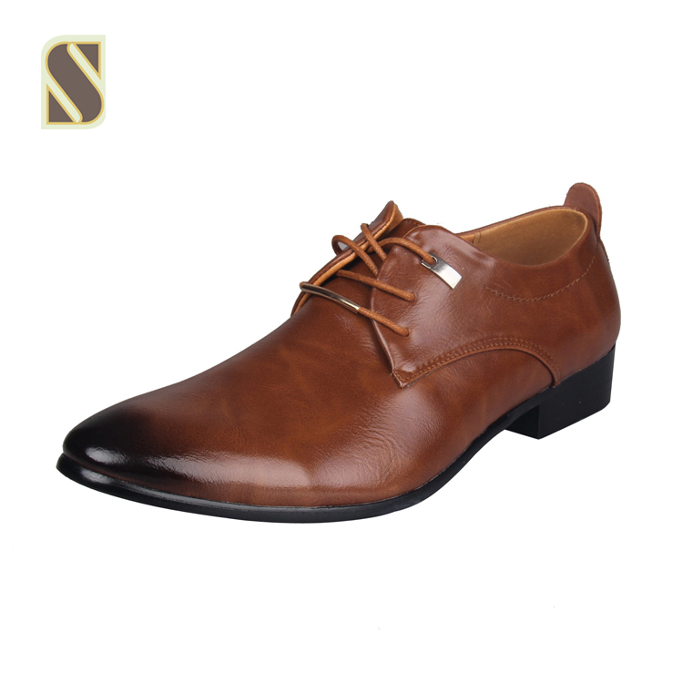 Hot Sale Men Dress Shoes Soft Pointed Toe Classic Fashion Business Oxford Shoes For Men Loafers(China (Mainland))