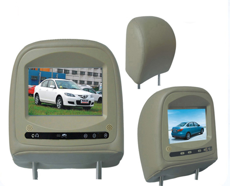 China HEADREST MONITOR car headrest monitor dvd player for mazda M3(China (Mainland))