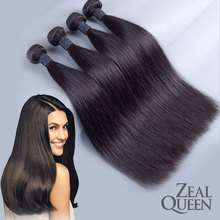 Wholesale Grade4A 12″-28″ 3pcs lot 100G/PCS Cheap india Human Hair Weave Fee Shipping india human hair straight
