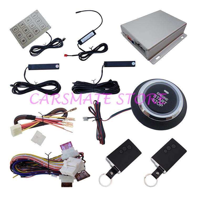 Quality Smart Key PKE Car Alarm System Remote Lock & Unlock Remote Engine Start Stop & Hopping Code Stock In Australia & USA(China (Mainland))