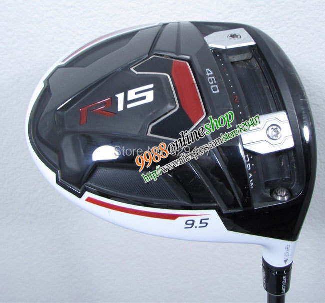 New golf clubs R15 460cc golf drivers 9.5/10.5 loft with R15 graphite shaft&Golf HeadCovers+golf Grip driver clubs Free Shipping(China (Mainland))