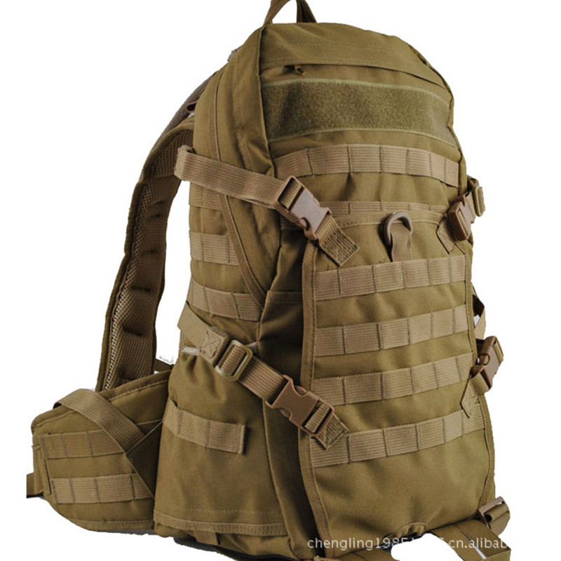 Camping Bags Waterproof Molle Backpack Military 3P Tad Tactical Assault Travel Bag Men Cordura 38L