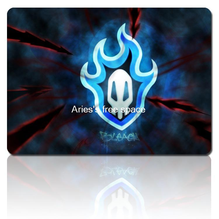 BLEACH flame skull personality animation mousepad cheap gaming mouse pad gamer large notbook computer mouse mat gear mouse pad(China (Mainland))