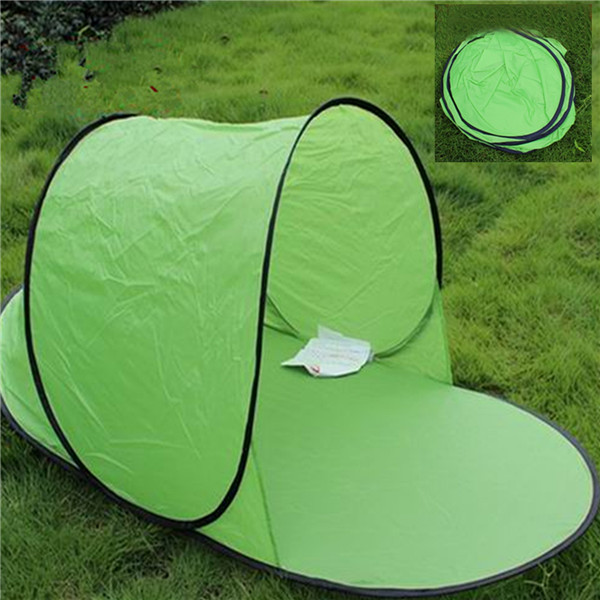 Hot sale Outdoor camping hiking beach summer tent UV protection fully sun shade quick open pop up beach awning fishing tent(China (Mainland))