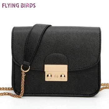 Flying birds! women messenger bags for women bag brands chain shoulder bag handbag high quality bolsas female pouch LS4789fb