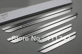 Fashion! Stainless Steel Scuff Plate Door sill cover trim for VW Volkswagen Tiguan 2009 2010 2011 2012
