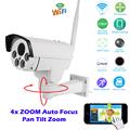 HI3516C SONY IMX222 HD 1080P Mini Bullet Wifi PTZ IP Camera 4X Zoom Auto Focus 2