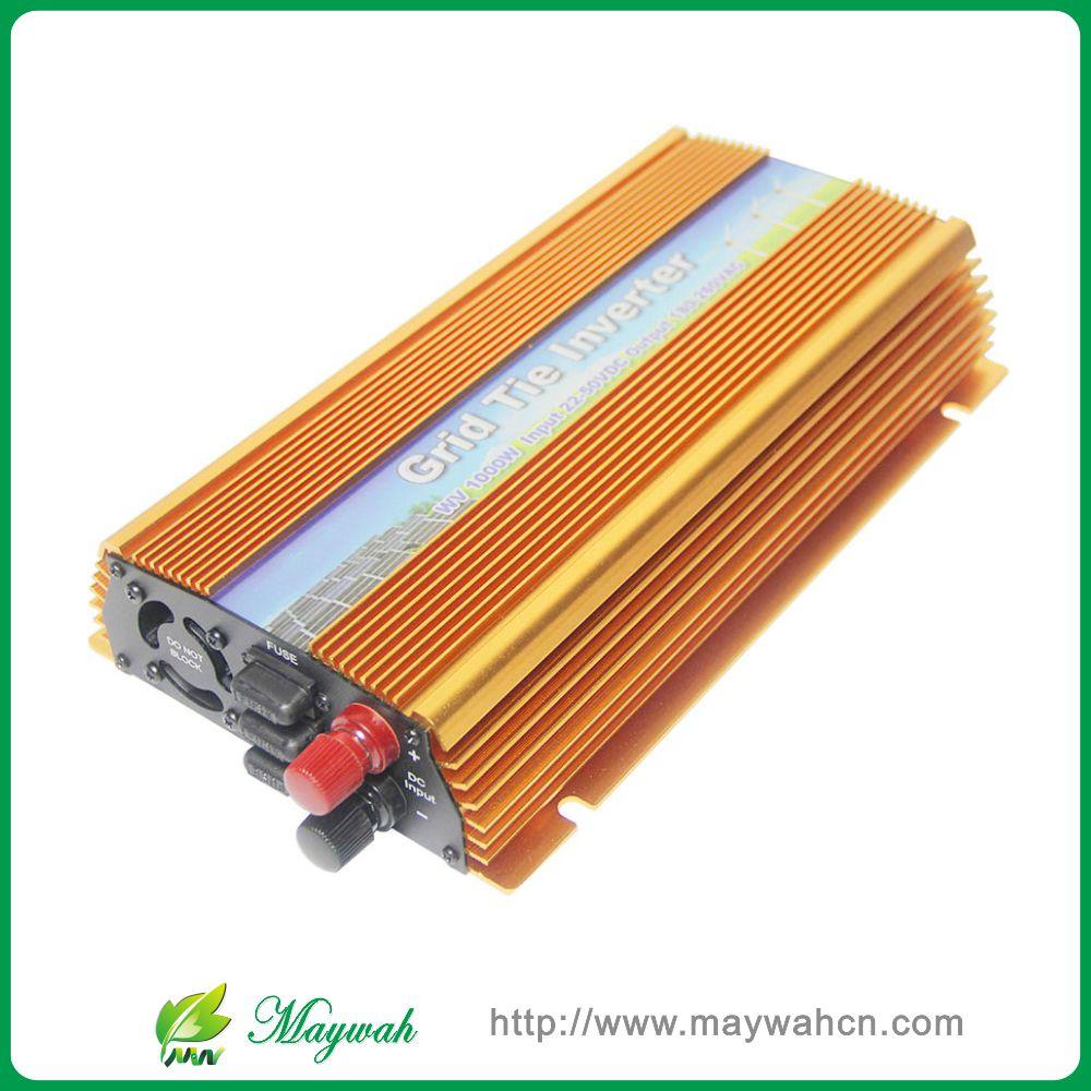 10.5-30VDC 1000W solar grid tie inverter with MPPT PV on Grid Inverter, Output 90-140V.50hz/60hz, For Alternative Energy(China (Mainland))