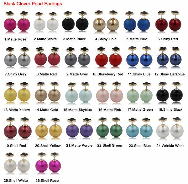 black clover earrings 2