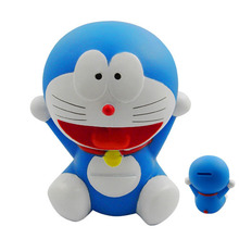 Doraemon small Coin Piggy Bank saving money box figure 12 cm new Japan Cartoon & Anime #B