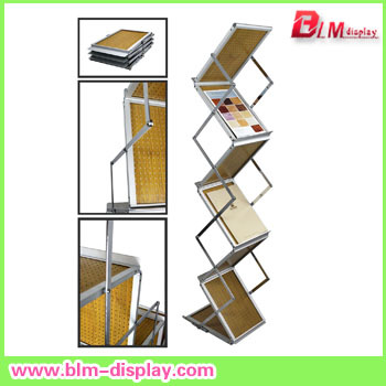 A4 Acrylic Brothure Holder;Brochure stand,Literature Rack,Display Rack(China (Mainland))