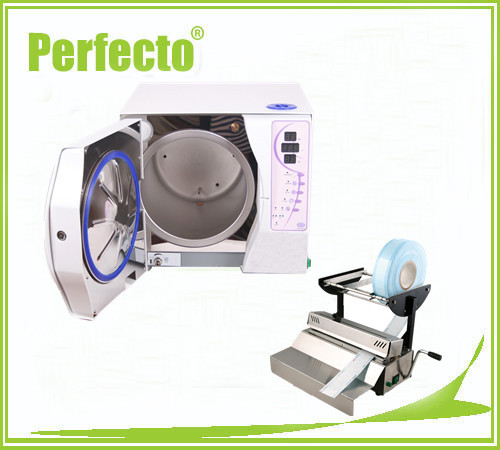 23L Vacuum Steam Dental Autoclave Sterilizer WITHOUT PRINTER and Sealing Machine FREE SHIPPING(China (Mainland))
