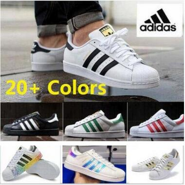 superstar Hot Sale and Top Quality 2016 Men Women Superstar GOLD and black casual 36-44 FREE SHIPPING(China (Mainland))
