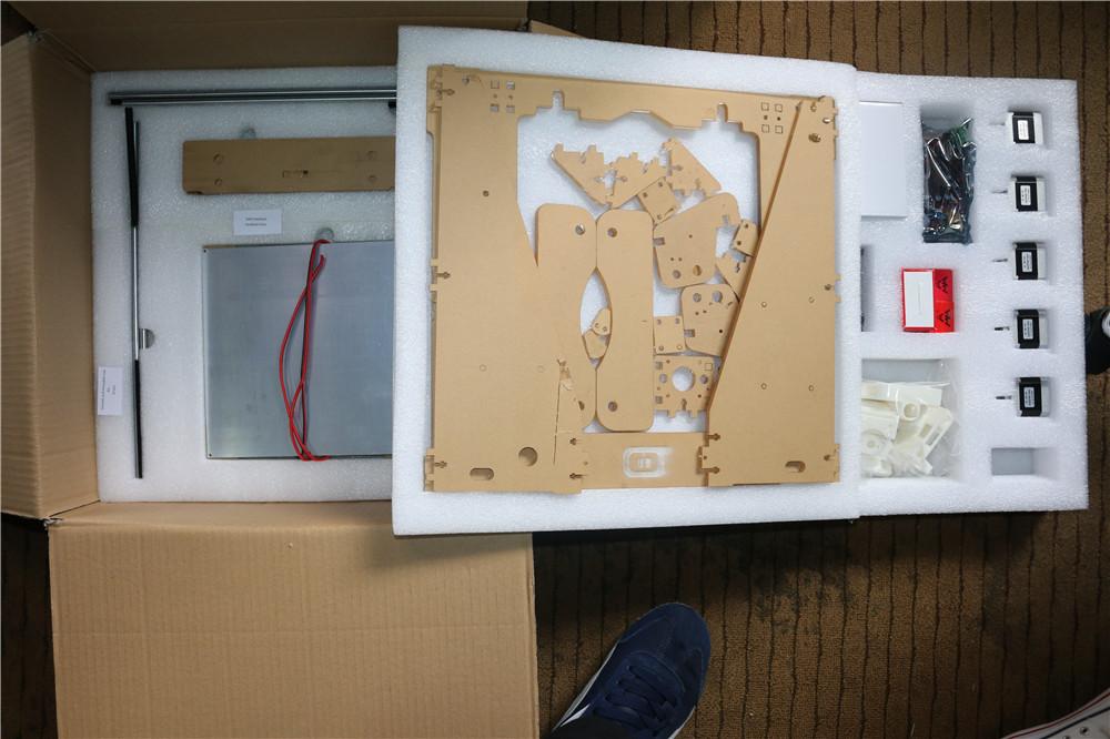 3D printer full acrylic frame mechanical Kit for Reprap Prusa i3 DIY