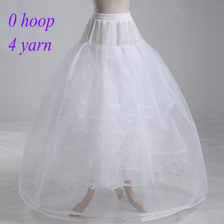 Free Shipping 2014 Cheap New White Bridal Gown Wedding Dresses Petticoat Crinoline Bustle QC606