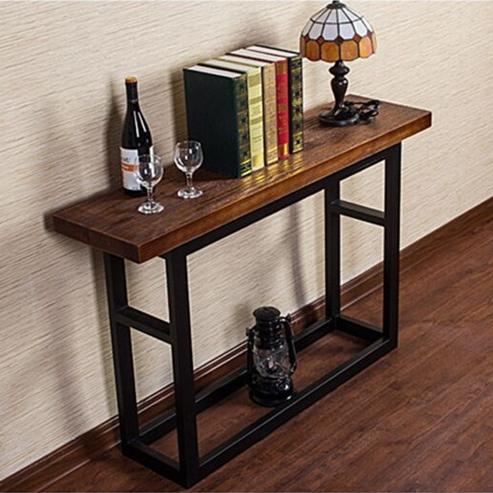 nordic ikea eingang bahnhof die retro text holz konsole tisch schreibtisch curio halle tabellen. Black Bedroom Furniture Sets. Home Design Ideas