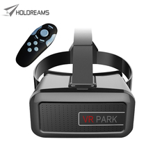 VR PARK V2 3D Virtual Reality Glasses Google Cardboard VR BOX Headset for 4.7 – 6 inches Smartphone + Bluetooth Gamepad 4.0